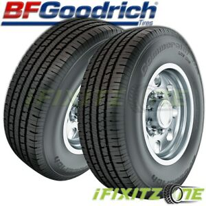 2 Bf Goodrich Commercial T a A s 2 Lt265 75r16 123r All Season Performance Tires