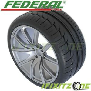 Federal Evoluzion F60 295 30r20 101y Xl Uhp Ultra High Performance Tires