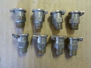 Gits Oil Cup Oiler 1 4 Pipe Thread 8 Pieces New