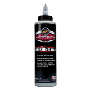 Meguiar s D301 Da Microfiber Finishing Polish Wax 16oz Meguiars Dual Action