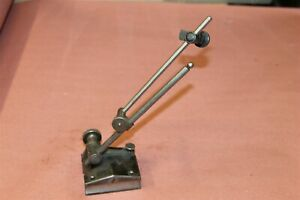 L S Starrett Surface Gage 9 Spindle Machinist Tool