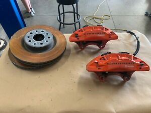 2016 2018 Chevrolet Camaro Ss Brembo Front Brakes Calipers And Rotors Gm Oem