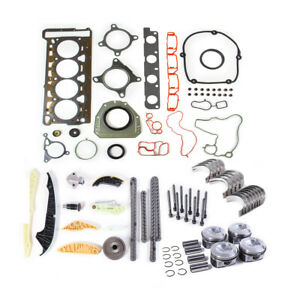 Ea888 Engine Gasket Overhaul Rebuilding Kit For Vw Cc Eos Audi A6 2 0t 23mm