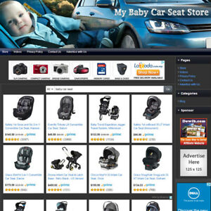 Baby Car Seat Store Easy to operate Highly Profitable Business Website For Sale