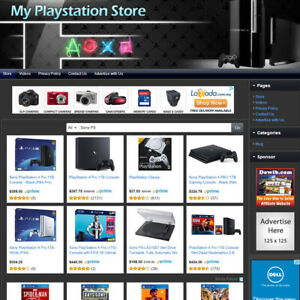 Video Game Store Easy to operate Highly Profitable Business Website For Sale