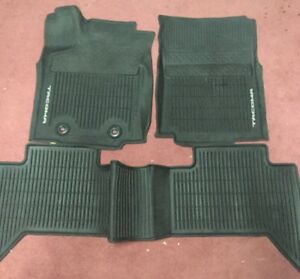 Toyota Tacoma 2016 2019 At Double Cab All Weather Rubber Floor Liners Mat Oem