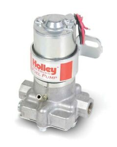 Holley 712 801 1 Marine Electric Fuel Pump Red