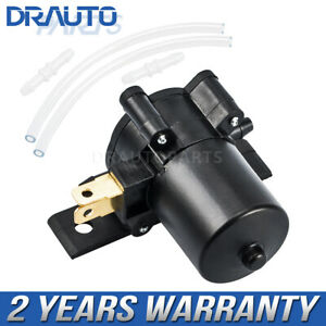 Universal Windshield Wiper Washer Pump Fit For Car Van Bus Truck Awp01 12volt