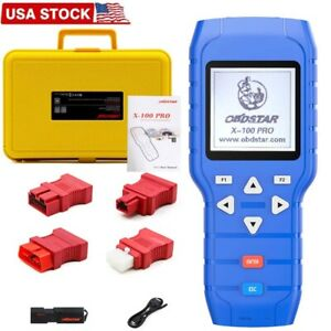 Usa Obdstar X 100 Pros Auto Programmer c d e Type For Immo odometer obd Eeprom