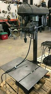 Walker Turner Variable Speed Power Feed Drill Press