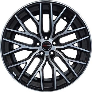 4 Gwg Wheels 20 Inch Black Flare Rims Fits Ford Mustang Boss 302 2012 2014