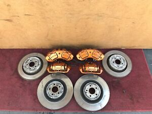 Mercedes W221 W216 S63 Cl63 S65 Cl65 Amg Brake Caliper Calipers Rotor Rotors Oem