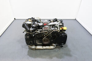 Used Low Mileage Non Avcs Ej205 Replacement Engine For 02 05 Subaru Wrx 2 0