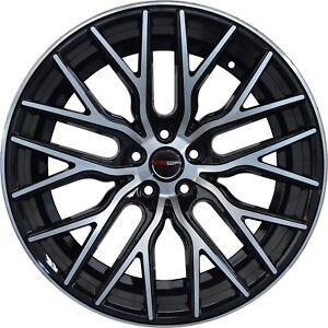 4 Flare 20 Inch Black Rims Et20 Fits Jeep Grand Cherokee Overland 2014