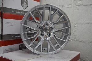 4 Flare 20 Inch Silver Rims Et20 Fits Nissan Maxima 2000 2003