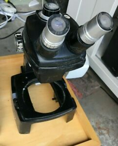 Bausch Lomb Stereozoom 4 Microscope 0 7x 3x Tested Working Nice Unit Read