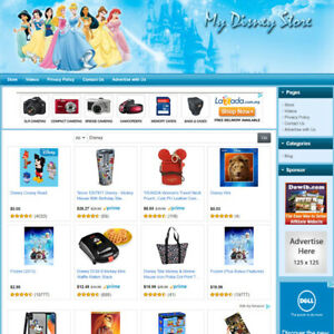 Disney Toys Store Best Affiliate Website For Sale With Potential High Income