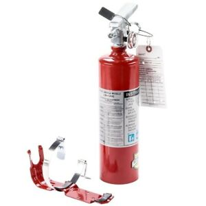 4 2 5 Lb Fire Extinguisher Abc Dry Chemical Rechargeable Dot Vehicle Bracket Ul