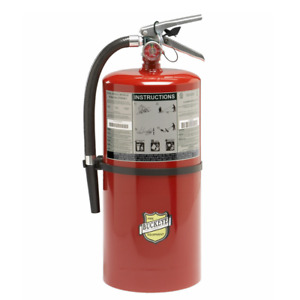 Buckeye 20 Lb Abc Fire Extinguisher Wall Bracket Ready For Fire Inspections