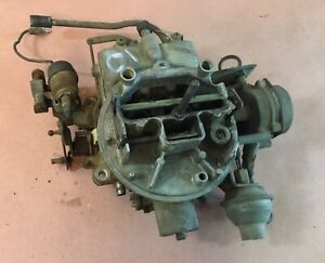 Motorcraft 2 Barrel Carburetor 2100 2150 Ford Jeep V8 360 1 21 Wagoneer Amc F150