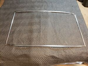 Complete Rear Window Moldings 1966 1969 Buick Riviera 1968 1967 Very Nice Reveal
