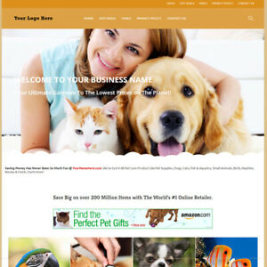 Best Affiliate Home Make Money Online Pet Care Store Website Business For Sale