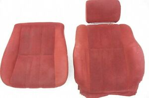84 89 Toyota 4runner Pickup Truck Lower Bucket Seat Cushion Pad Oem Cover Red
