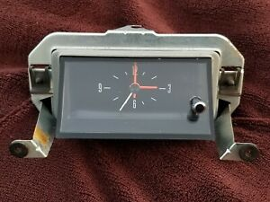 Ford Maverick Console Clock Nos Consolette 1970 71 72 73 74 75 Grabber 70s Works
