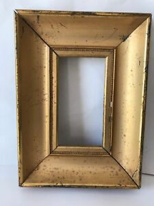 Antique Picture Frame Gilt Wood Impressionist Plein Air Early 20th