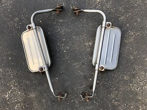 67 72 Ford Truck West Coast Jr Stainless Mirrors