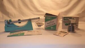 RCBS Reloading Powder Balance Scale & Powder Trickler With Boxes & Instructions