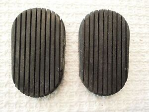 1941 1953 Cadillac Clutch Or Brake Pedal Pad New Pair