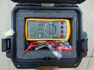 Fluke 787 Processmeter Kit With Accessories Free Case 15572