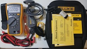 Used Fluke 116 With Accessories And 80pk 8 Pipe Thermocouple
