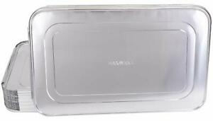 Disposable Steam Table Pan Lids Full Size 50 On Sale Now