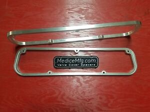 Valve Cover Spacers 3 8 Small Block Mopar 318 340 360 With Gasketlok