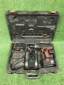 Snap On 18v 1 2 Cordless Impact Wrench Ct6850 W 2 Batteries Charger