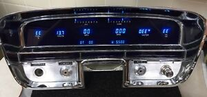 Custom 1956 Cadillac Dakota Digital Guages In Speedometer Housing 1954 1955
