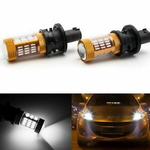 Ph24wy Error Free White 12272na 7014 Led Light Bulbs Front Turn Signal Lights