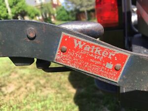 Antique vintage Walker Floor Jack Cap 1 Ton