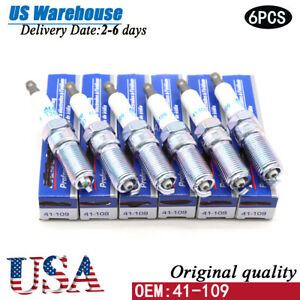 6x 41 109 12622561 Ac Delco Iridium Spark Plugs For Gmc Buick Cadillac Chevrolet