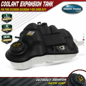 Coolant Expansion Tank W Cap For Ford F 250 F 350 F 450 F 550 Super Duty 603217