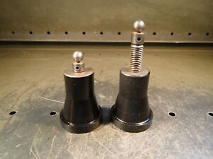 2 Piece Set Machinist Mill Work Holding Leveling Screw Jacks 3 11 32 To 4 1 2