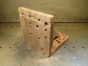 Right Angle Plate 8 X 8 X 8 Mill Milling Set up Fixture Used Good Condition