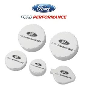 2010 2014 Shelby Gt500 Oem Ford Performance M 6766 M50b Billet Engine Cap Set