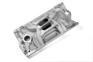 Small Block Chevy Weiand Aluminum Intake Vortec Dual Plane 1500 6500 327 350 383