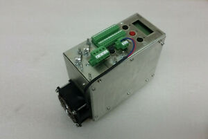 Phytron Ccd 93 70 Stepper Motor Power Stage Driver Display Mini h 24