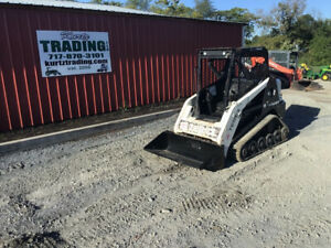 2015 Terex R070t Compact Track Skid Steer Loader Only 600 Hours
