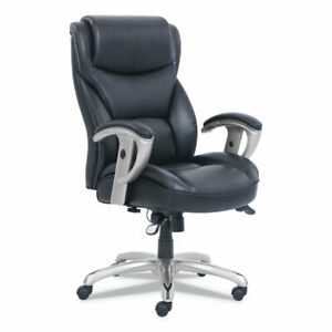 Sertapedic Emerson Big And Tall Task Chair Supports Up To 400 Lbs Black Seat