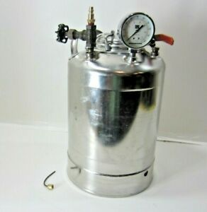 Alloy Products 140 Psi Stainless Steel Dispensing Vessel